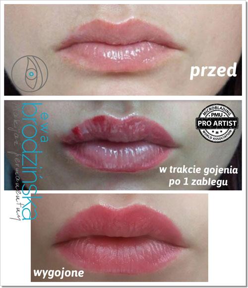 Makijaż Permanentny Ust Makijaż Permanentny Brwi Ust Oczu Ewa